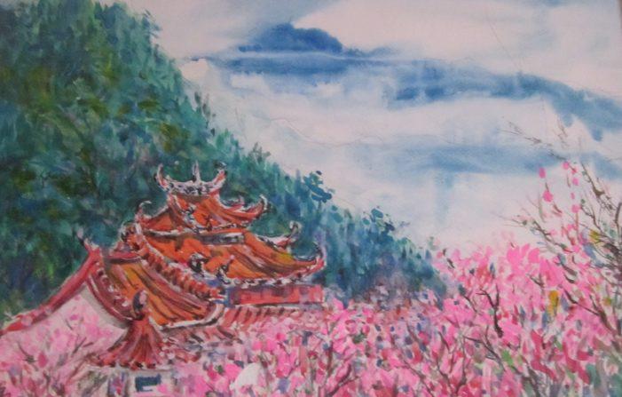 邱瑞勳水彩個展2018自然最美