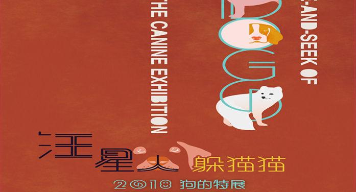 汪星人躲貓貓2018狗的特展