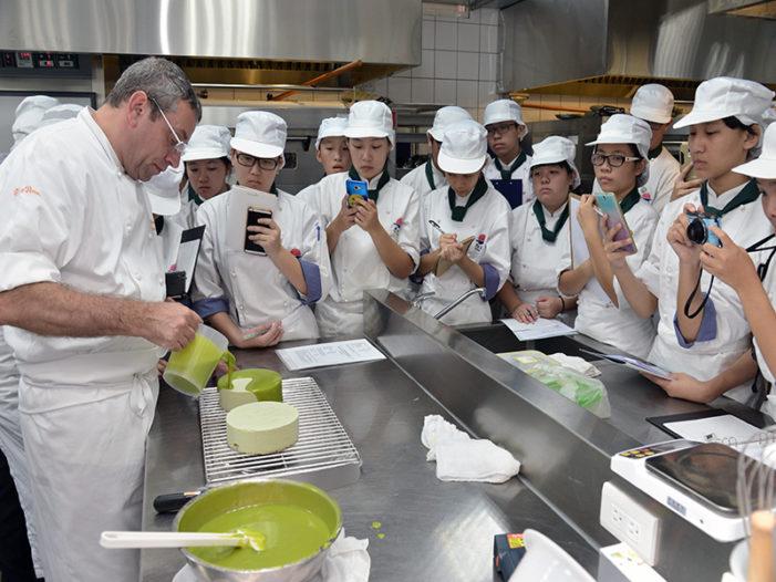 明台高中2017法式甜點校園廚藝講座